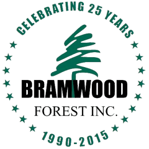 Bramwood 25 Year Logo